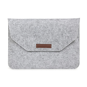 "baratos Capinhas para MacBook Pro 15""-Mangas Caso envelope Sólido Têxtil para MacBook Pro 15 Polegadas / MacBook Air 13 Polegadas / MacBook Pro 13 Polegadas"