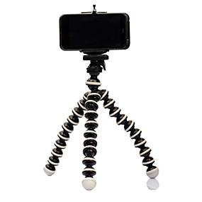 abordables Compra por modelo de teléfono-Mini soporte para trípode portátil soporte para teléfono móvil flexible trípodes smartphone soporte de escritorio plegable para iphone samsung huawei xiaomi