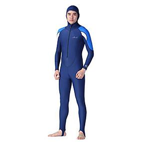 olcso Vízi sportok-Dive&Sail Férfi Búvárruha Vízhőbuvárruha SPF50 UV Napvédelem Gyors szárítás Teljes védelem Búvárkodás