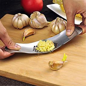 رخيصةأون أدوات & أجهزة المطبخ-الروك هزاز الثوم الصحافة كسارة الصلب المقاوم للصدأ المفرمة المفرمة