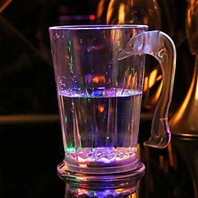 זול נורות לילה לד-יחידה 1 בגדי שתיה LED סוללה <5 V