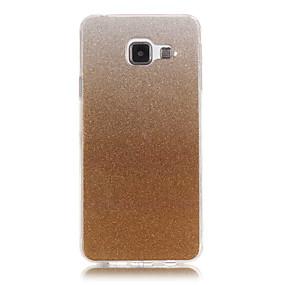 voordelige Galaxy A5(2016) Hoesjes / covers-hoesje Voor Samsung Galaxy A5(2016) / A3(2016) IMD Achterkant Glitterglans Zacht TPU