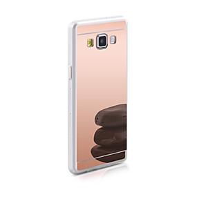 olcso Galaxy J7 tokok-Case Kompatibilitás Samsung Galaxy J7 / J5 / J1 Ace Tükör Fekete tok Egyszínű TPU