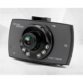 voordelige Auto DVR's-g30 480p / 720p / 1080p Auto DVR 120 graden Wijde hoek 4.3 inch(es) Dash Cam met Bewegingsdetectie 6 infrarood LED's Autorecorder