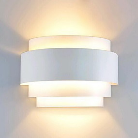 ieftine Abajure Perete-Lightinthebox Modern contemporan Cale Metal Lumina de perete 110-120V / 220-240V 60 W / E26 / E27