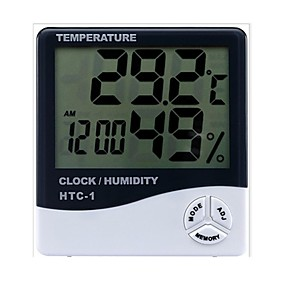 billiga Thermometers-Yong Sheng innovation Trådbunden Others Digital  Electronic clock Ivory