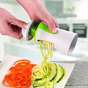 Χαμηλού Κόστους Κουζίνα και τραπεζαρία-λαχανικά σπιροσωλήνα φρούτα τρίφτη σπειροειδής κοπής σπιράλ κοπής για κουζίνα αγγουριού καρότο