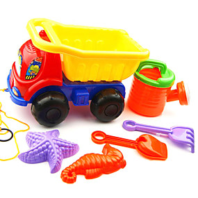 hesapli Dış Mekan Oyuncakları-Oyuncak Arabalar Plaj Oyuncakları Rol Yapma Oyunu ABS 6 pcs Çocuklar için Yetişkin Oyuncaklar Hediye