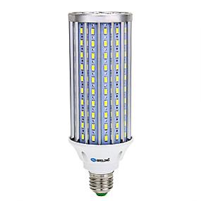رخيصةأون أضواء LED ذرة-بريلونج 1 قطعة 160led smd5730 ضوء الذرة ac85-265v الضوء الأبيض الدافئ الأبيض e27 b22