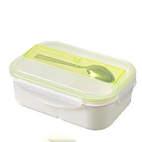 olcso Étel tárolás-Konyhai szervezet Uzsonnás dobozok Műanyag Könnyen használható 1db