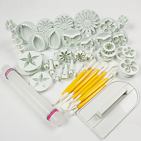 cheap Kitchen & Dining-ABS Cake Decorating Baking Tool Fashion For Cake For Cookie For Cupcake Pastry Tool Bakeware tools
