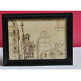 رخيصةأون ألبومات و إطارات الصور-صورة أطر الحديثة / المعاصرة / مكتب/الأعمال مستطيل,خشب 1Piece صغير