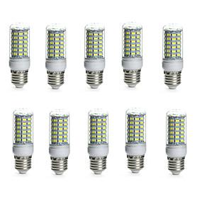 levne LED corn žárovky-10pcs 10 W LED corn žárovky 850-950 lm E14 G9 GU10 Trubice 69 LED korálky SMD 5730 Voděodolné Ozdobné Teplá bílá Chladná bílá 220-240 V 110-130 V / 10 ks / RoHs