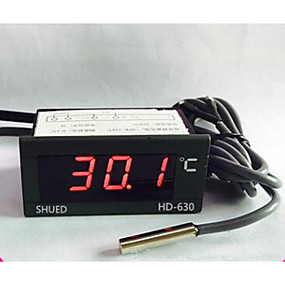 billiga Thermometers-SUHED Trådbunden Others Intelligent temperature control regulator Grå