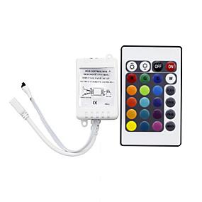 ieftine Manete RGB-HRY 1 buc Controlat de la distanță / Senzor cu Infraroșii / Strip Light Accesoriu Plastic Telecomandă IR pentru LED-ul RGB cu LED-uri
