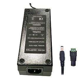 ieftine Convertor de Voltaj-zdm 1pc 120w dc12v 10a alimentare de curent alternativ dc5.5 x 2.1mm adaptor de alimentare de calitate superioară pentru benzi de lumină led - negru (ac100 ~ 240v 50 Hz la DC 12V)