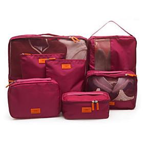 olcso Utazás-Utazás Utazótáska Rendszerezők Cipőtároló zsák Tárolási készlet Vízálló Porbiztos Összecsukható Szövet Oxford ruházat