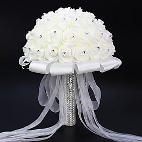 olcso Esküvői dekorációk-Művirágok 1 Ág minimalista stílusú Rózsák Asztali virág