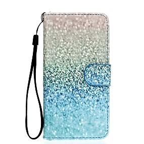 voordelige Galaxy S7 Hoesjes / covers-hoesje Voor Samsung Galaxy S7 edge / S7 / S6 edge Portemonnee / Kaarthouder / met standaard Volledig hoesje Kleurgradatie Hard PU-nahka
