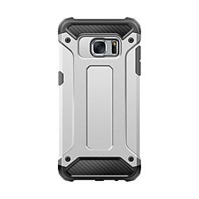 voordelige Galaxy S6 Edge Plus Hoesjes / covers-hoesje Voor Samsung Galaxy S8 Plus / S8 / S7 edge Schokbestendig Achterkant Schild PC