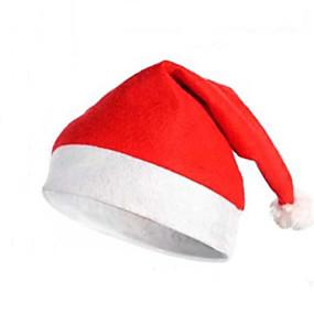 olcso Vakációs kellékek-Kalapok Santa ruházat Felnőttek Férfi Karácsony Mindszentek napja Fesztivál / ünnepek Poliészter Farsangi jelmezek