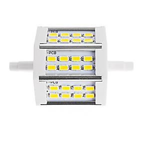 olcso LED fénycsövek-1 darab r7s 78mm 10w vezetett energiatakarékos lámpa 24 smd 5630 csere halogén fényszóró lámpa ac85-265v