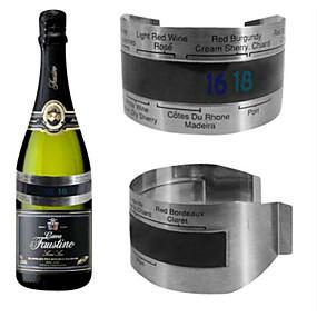 olcso Báros készlet-folyadékkristályos bor hőmérő, hőmérő, rozsdamentes acél