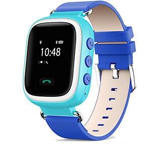 olcso Sports órák-Sportos óra Divatos óra Intelligens Watch Digitális Bőr Kék / Orange / Pink Vízálló Érintőképernyő Riasztás - Ébresztős Digitális Alkalmi - Narancssárga Kék Rózsaszín / Naptár / Kronográf / Hőmérő