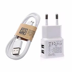 ieftine încărcător cu cablu-Încărcător Casă / Încărcător Portabil Încărcător USB Priză EU Încarcator Rapid 2 Porturi USB 3.1 A pentru