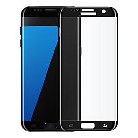 Недорогие Чехлы и кейсы для Galaxy S-Samsung GalaxyScreen ProtectorS7 edge 2.5D закругленные углы Защитная пленка для экрана 1 ед. Закаленное стекло