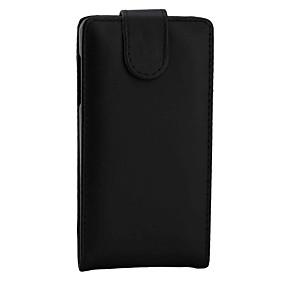 voordelige Galaxy A3(2016) Hoesjes / covers-hoesje Voor Samsung Galaxy A5(2016) / A3(2016) / A5 Flip Volledig hoesje Effen Hard PU-nahka