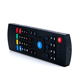 olcso Billentyűzetek-LITBest MX3 Vezeték nélküli / Vezeték nélküli 2,4 GHz-es Air Mouse Minii billentyűzet Csendes 81 pcs Kulcsok