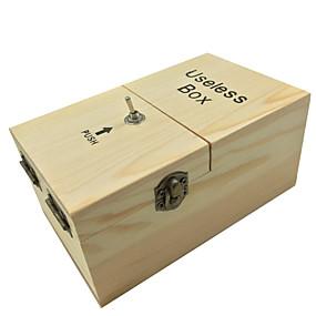 olcso Klasszikus játékok-LT.Squishies Hasznos Box Irodai íróasztali játékok Stresszoldó Stressz és szorongás oldására Tömör fa Kikapcsolódik Fa 1 pcs Felnőttek Játékok Ajándék