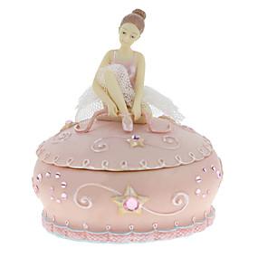 hesapli Klasik Oyuncaklar-Müzik Kutusu Müzik mücevher kutusu Balerin Müzik Kutusu Müzik Kutusu Dansçısı Bale dansçısı Eşsiz Kadın's Genç Erkek Genç Kız Çocuklar için Yetişkinler Mezuniyet Hediyeleri Oyuncaklar Hediye