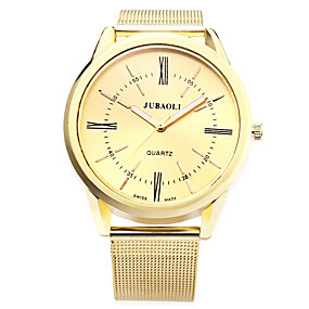 Недорогие Фирменные часы-JUBAOLI Муж. Наручные часы Кварцевый Золотистый 30 m Горячая распродажа Аналоговый Кулоны На каждый день Мода - Белый Черный Синий Один год Срок службы батареи / SSUO LR626