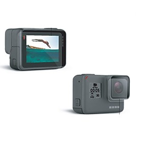 cheap Sports Cameras & Accessories For GoPro-Screen Protectors Dust Proof For Action Camera Gopro 5 Universal