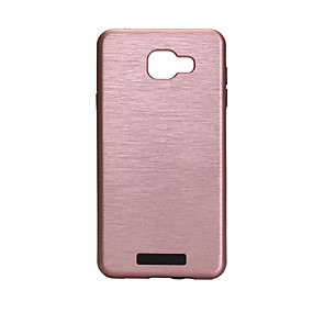voordelige Galaxy A3(2016) Hoesjes / covers-hoesje Voor Samsung Galaxy A3 (2017) / A5 (2017) / A7 (2017) Schokbestendig Achterkant Effen Hard PC