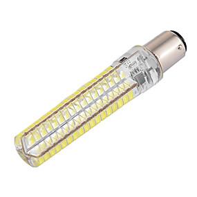 levne LED corn žárovky-ywxlight® stmívatelné ba15d 10w 900lm 136led 5730smd teplá bílá chladná bílá silikonová led kukuřičná světla ac 110-130v ac 220-240v