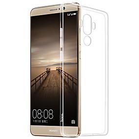 Недорогие Чехлы и кейсы для Huawei Mate-Кейс для Назначение Huawei Mate S / Huawei P9 / Huawei P9 Lite Huawei P9 Plus / Huawei P9 Lite / Huawei P9 Прозрачный Кейс на заднюю панель Однотонный Мягкий ТПУ