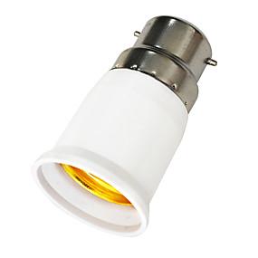 olcso Lámpa aljzatok-jiawen 1pc b22 - e27 e27 85-265 v fénycsatlakozó műanyag
