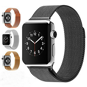cheap Shop by Phone Model-Milanese Loop Bracelet Stainless Steel Magnetic   band For Apple Watch series 5/4/3/2/1  Bracelet strap for iwatch series 5 iwatch series 4   44mm 42mm  40mm 38mm
