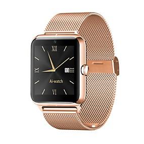 Недорогие Smart Watch Phone-Z50 стали смарт-часы Bluetooth Поддержка фитнес-трекер уведомлять / монитор сердечного ритма / SIM-карты спортивные SmartWatch совместимые телефоны Apple / Samsung / Android