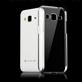 Недорогие Чехлы и кейсы для Galaxy J5(2016)-Кейс для Назначение SSamsung Galaxy J7 (2016) / J7 / J5 (2016) Прозрачный Кейс на заднюю панель Однотонный ТПУ