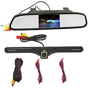 voordelige Auto-elektronica-BYNCG WG34 480p Auto DVR 170 graden Wijde hoek 4.3 inch(es) TFT Dash Cam met Parkeermodus Neen Autorecorder
