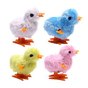 olcso Vakációs kellékek-Felhúzós játék Újdonságok Csirke Műanyag Plüs 1 pcs Felnőttek Fiú Lány Játékok Ajándék
