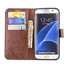 cheap Galaxy A3(2016) Cases / Covers-Case For Samsung Galaxy A5(2016) / A3(2016) / A5 Wallet / Card Holder / Rhinestone Full Body Cases Butterfly Hard PU Leather