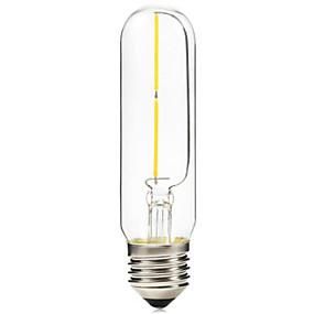 olcso Hagyományos izzó-BRELONG® 1db 2 W E26 / E27 T10 2300 k Izzószálas LED lámpák 220 V / 220-240 V