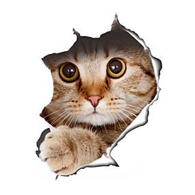 رخيصةأون ملصقات ديكور-حيوانات أزياء أشكال ملصقات الحائط لواصق حائط الطائرة لواصق حائط مزخرفة لواصق المرحاض, الفينيل تصميم ديكور المنزل جدار مائي جدار مرحاض