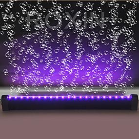 halpa Lemmikkieläinten Tarvikkeita-Akvaariovalo LED-valo Kalasäiliön valo Monivärinen Kauko-ohjain Lasi Muovi / 220-240 V / #