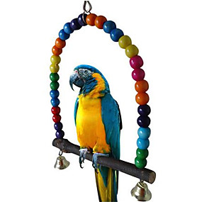 preiswerte Accessoires für Vögel-Vogel Leitern & Gestänge Holz